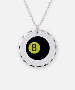 Eightball Necklace