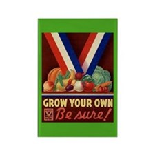 Victory Garden Rectangle Magnet