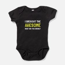 Brought Awesome Baby Bodysuit