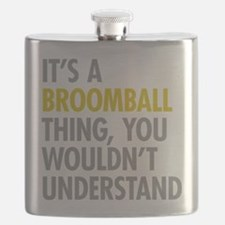 Its A Broomball Thing Flask