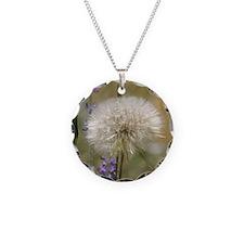 Dandelion Ball Necklace