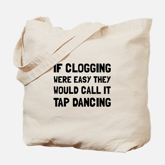 Clogging Tap Dancing Tote Bag