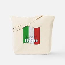 Gratefully Italian Tote Bag