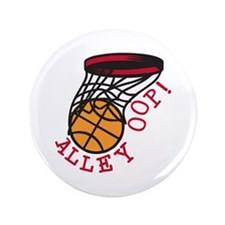 """Alley Oop 3.5"""" Button"""