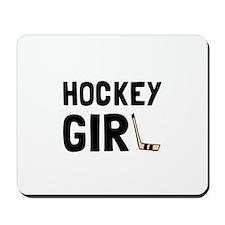 Hockey Girl Mousepad