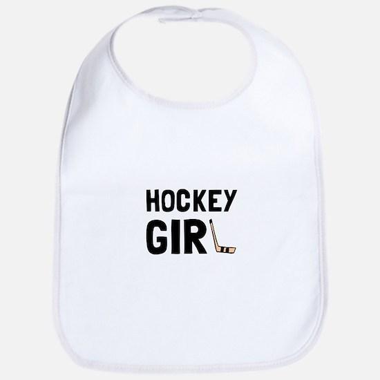 Hockey Girl Bib