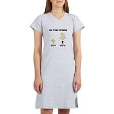 How To Pick Up Chicks Women's Nightshirt