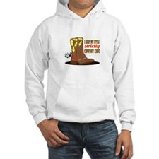 I Keep My Style Strictly Cowboy Chic Hoodie