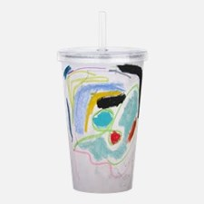 ABSTRACT PAINTING Acrylic Double-wall Tumbler