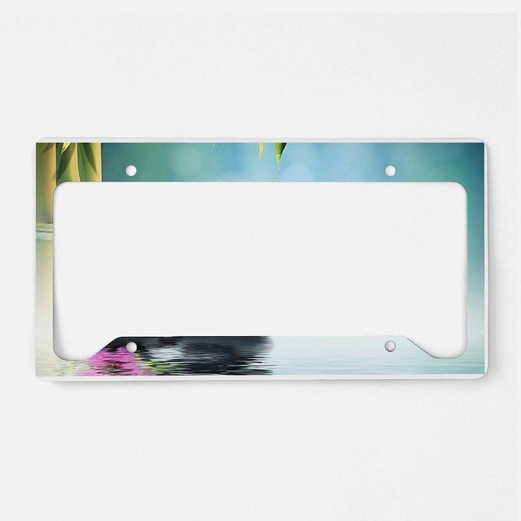 Zen Reflection License Plate Holder