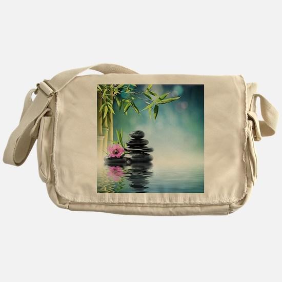 Zen Reflection Messenger Bag