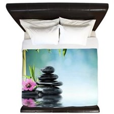 Zen Reflection King Duvet