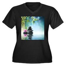 Zen Reflection Plus Size T-Shirt
