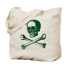 Masonic Skull and Crossbones Tote Bag
