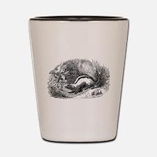 Funny Skunk Shot Glass
