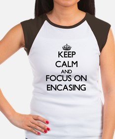 Keep Calm and focus on ENCASING T-Shirt