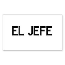 El JEFE Bumper Stickers