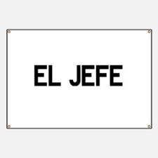 El JEFE Banner