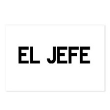 El JEFE Postcards (Package of 8)