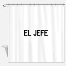 El JEFE Shower Curtain