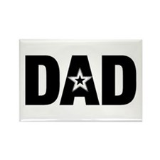 Dad is a Star Father's Day Rectangle Magnet