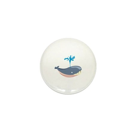 Whale Marine Mammal Animal Mini Button (10 pack)