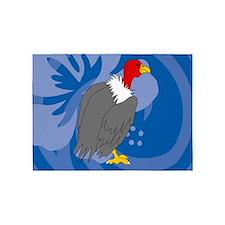 Vulture 5'x7'Area Rug