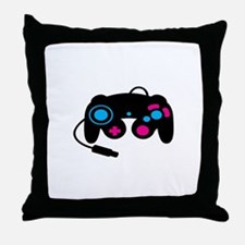 Game Controller Throw Pillow