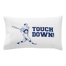 Touchdown Homerun Baseball Football Sports Pillow