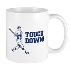 Touchdown Homerun Baseball Football Sports Mugs