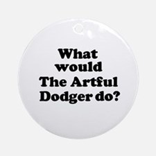 Artful Dodger Ornament (Round)