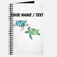 Custom Sea Turtles Journal