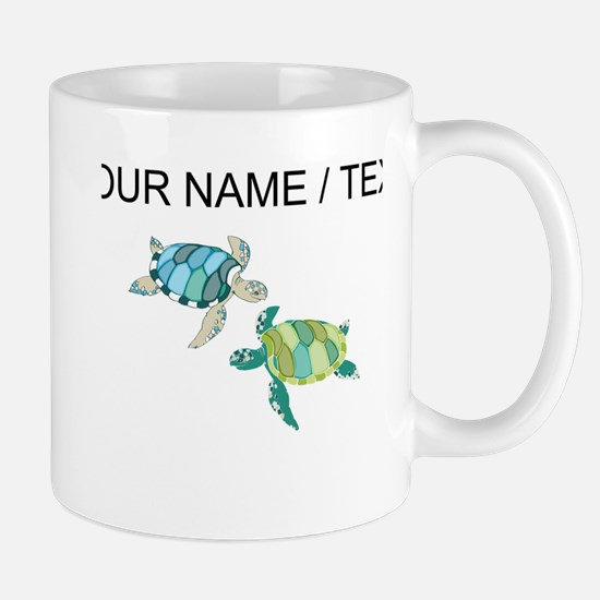 Custom Sea Turtles Mugs