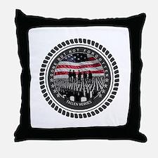 Fallen Heroes Throw Pillow