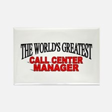 """The World's Greatest Call Center Manager"" Rectang"