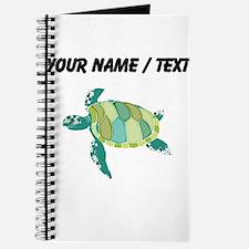 Custom Green Sea Turtle Journal