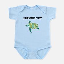 Custom Green Sea Turtle Body Suit