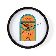 Basketball Free Throw Wall Clock