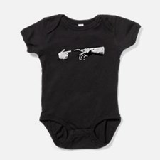 God and The Machine Hands Baby Bodysuit