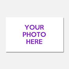Customize photos Car Magnet 20 x 12