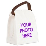 Photo Canvas Lunch Bag