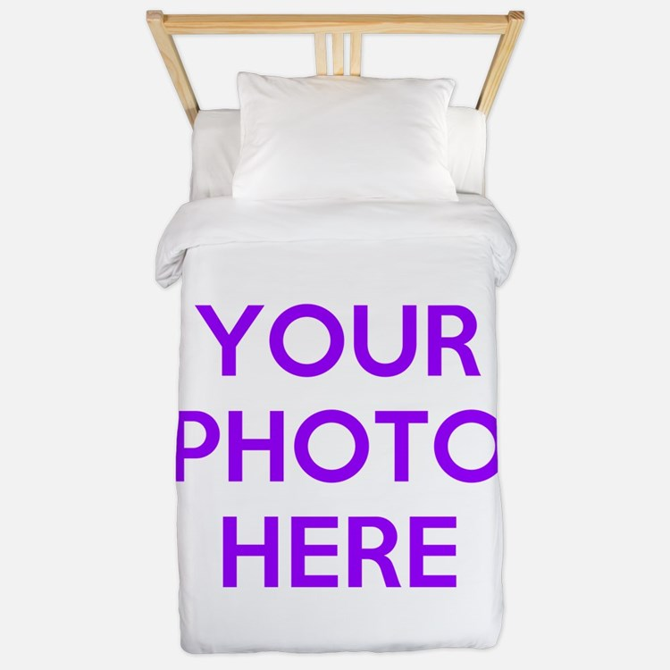 Customize photos Twin Duvet
