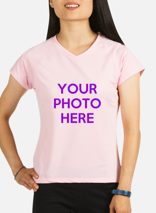 Customize photos Performance Dry T-Shirt