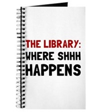 Library Shhh Happens Journal