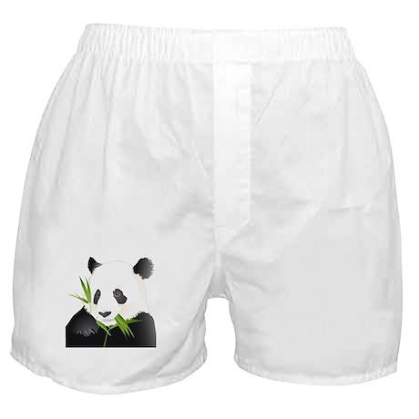 Panda Bear Boxer Shorts
