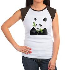 Panda Bear Women's Cap Sleeve T-Shirt