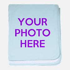 Customize photos baby blanket