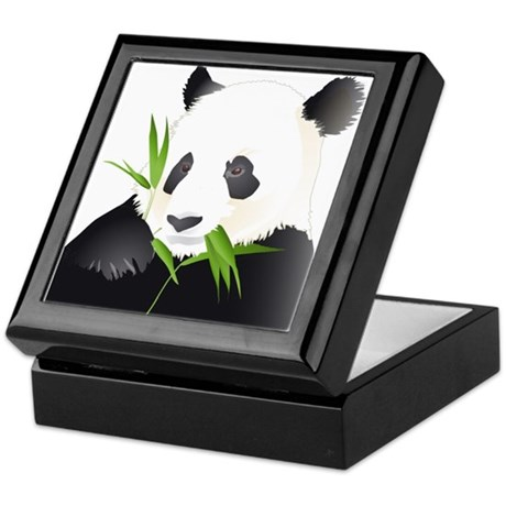 Panda Bear Keepsake Box