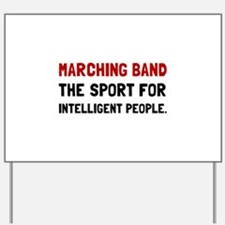 Marching Band Intelligent Yard Sign