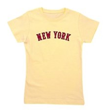 New York Versus Boston Rivals Girl's Tee